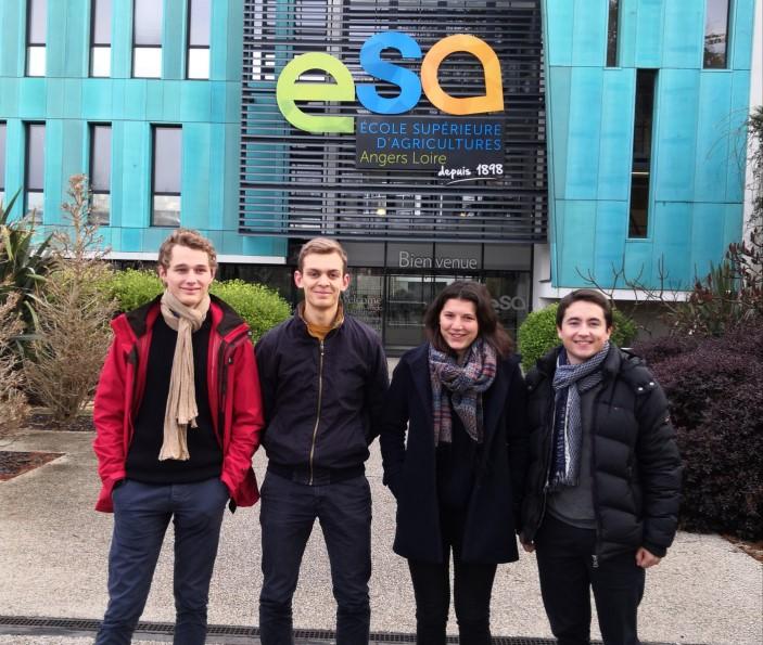 Etudiants ESA Landfiles