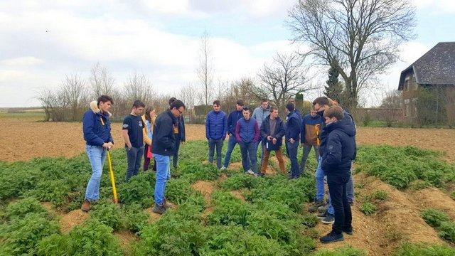 Un programme innovant pour sensibiliser les étudiants à la transition vers les sols vivants